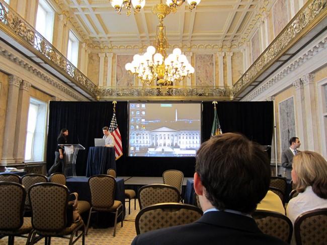 U.S. Treasury Cash Room