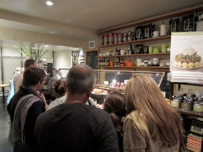 The Line at Extraordinary Desserts in San Diego