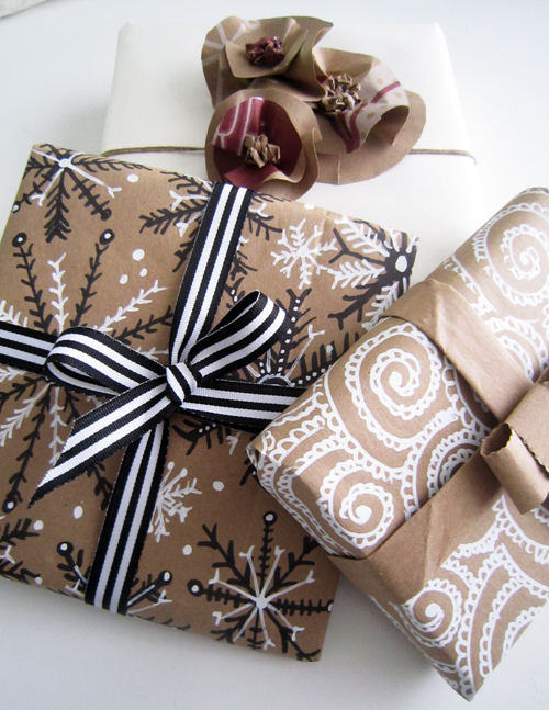 Creative Ways to Reuse Things: Brown Paper Bags to Gift Wrap