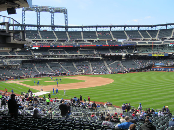Citi Field before the game