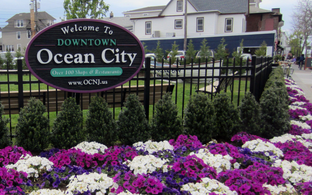 Downtown Ocean City, NJ