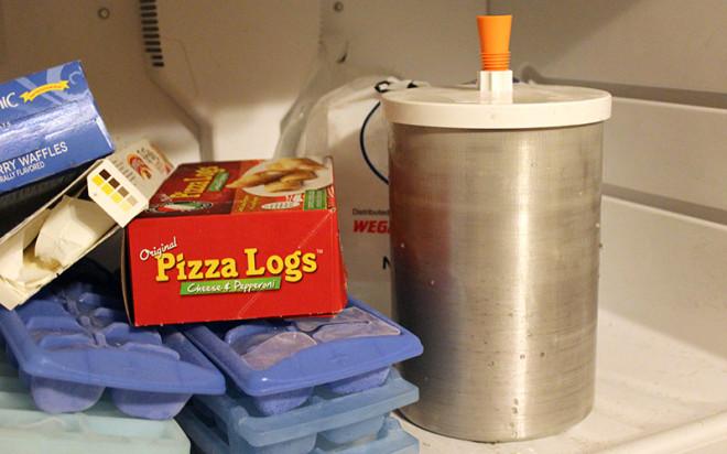 homemade-ice-cream-put-in-freezer