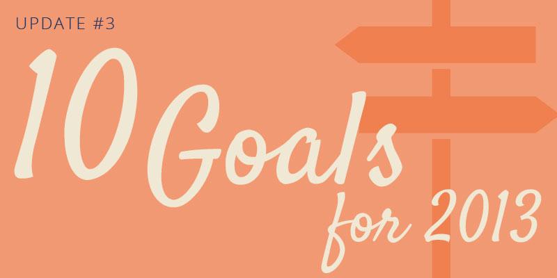 2013 Goals Update #3