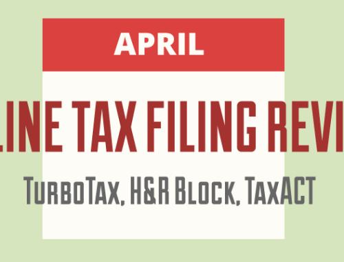 Online Tax Filing Review: TurboTax, H&R Block, TaxACT