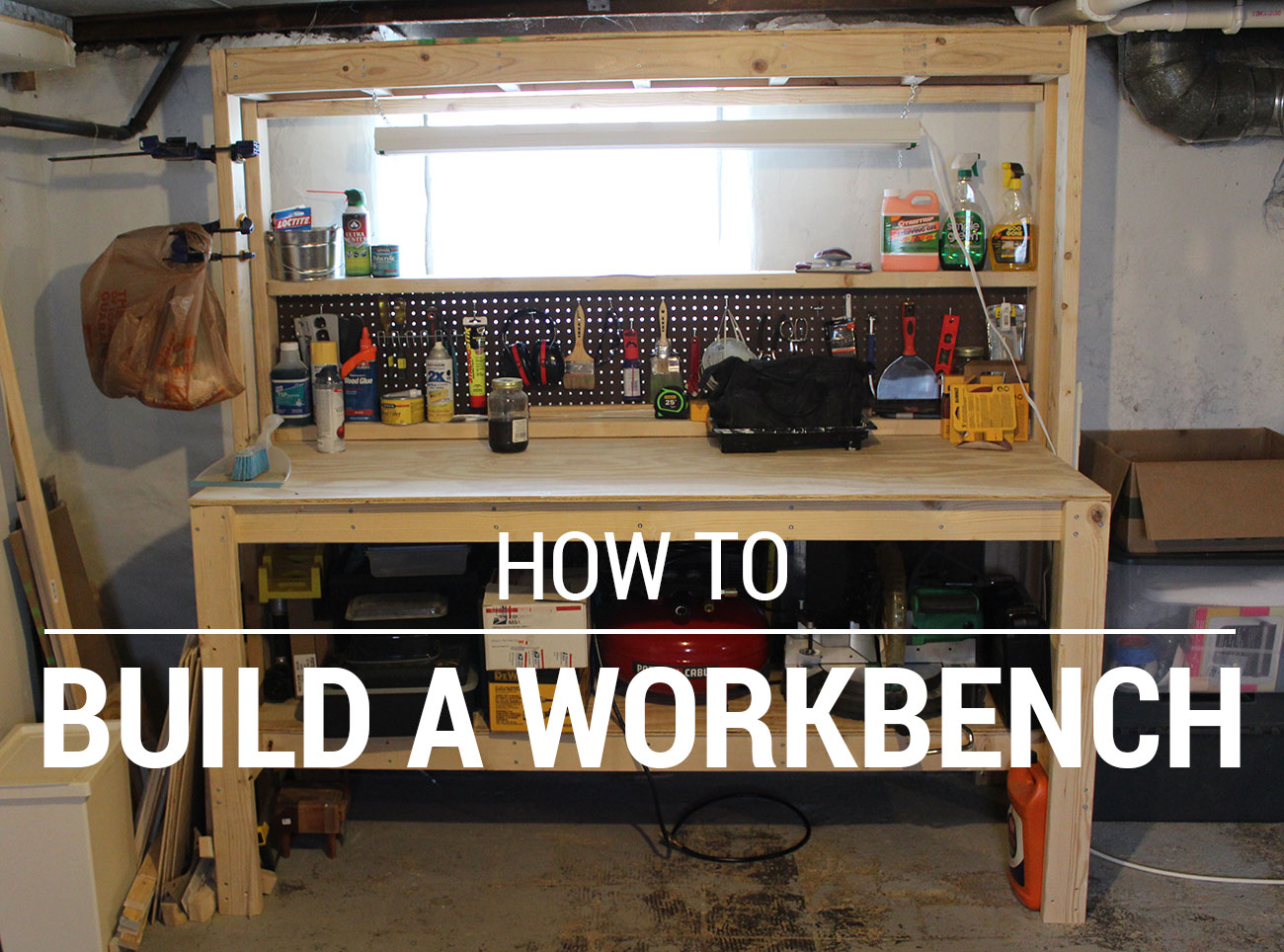 How to Build a Workbench - Living in Flux
