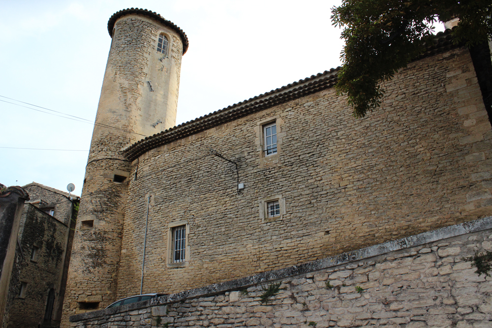 Exterior of Goult Castle from another angle