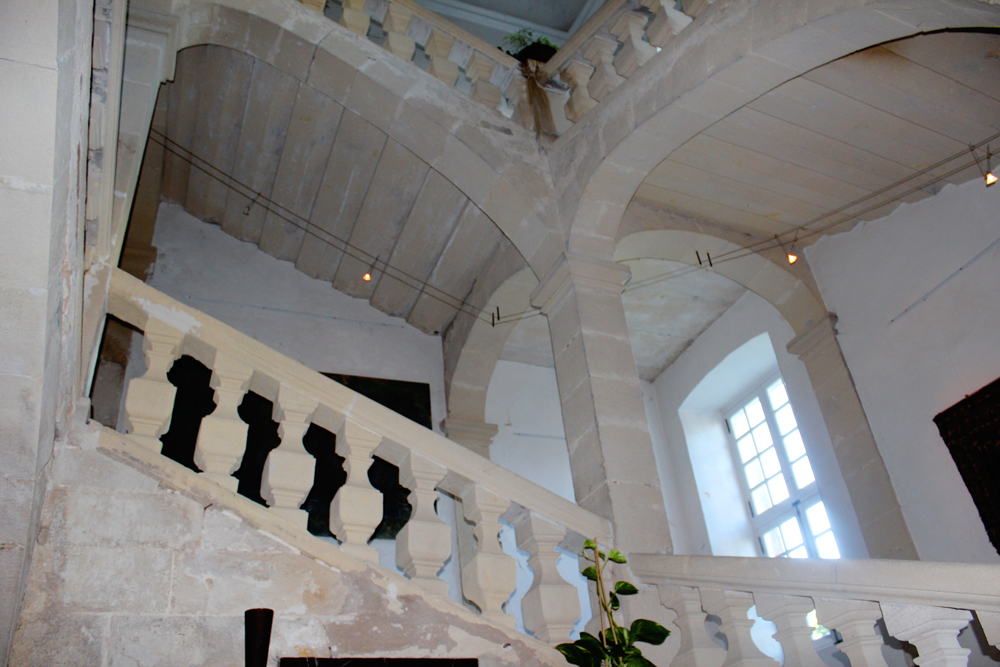 Stairwell in Goult Castle