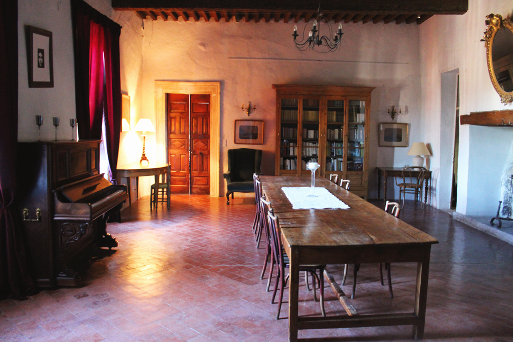 Library/study in Goult castle