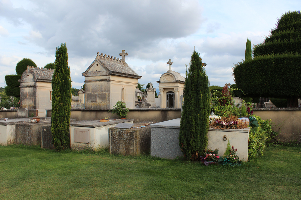 Cemetary in Goult France