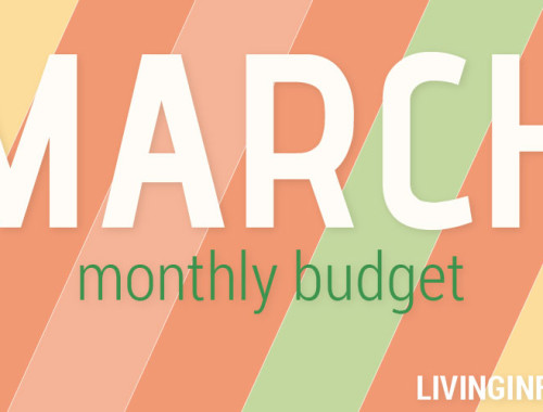 March 2015 Monthly Budget
