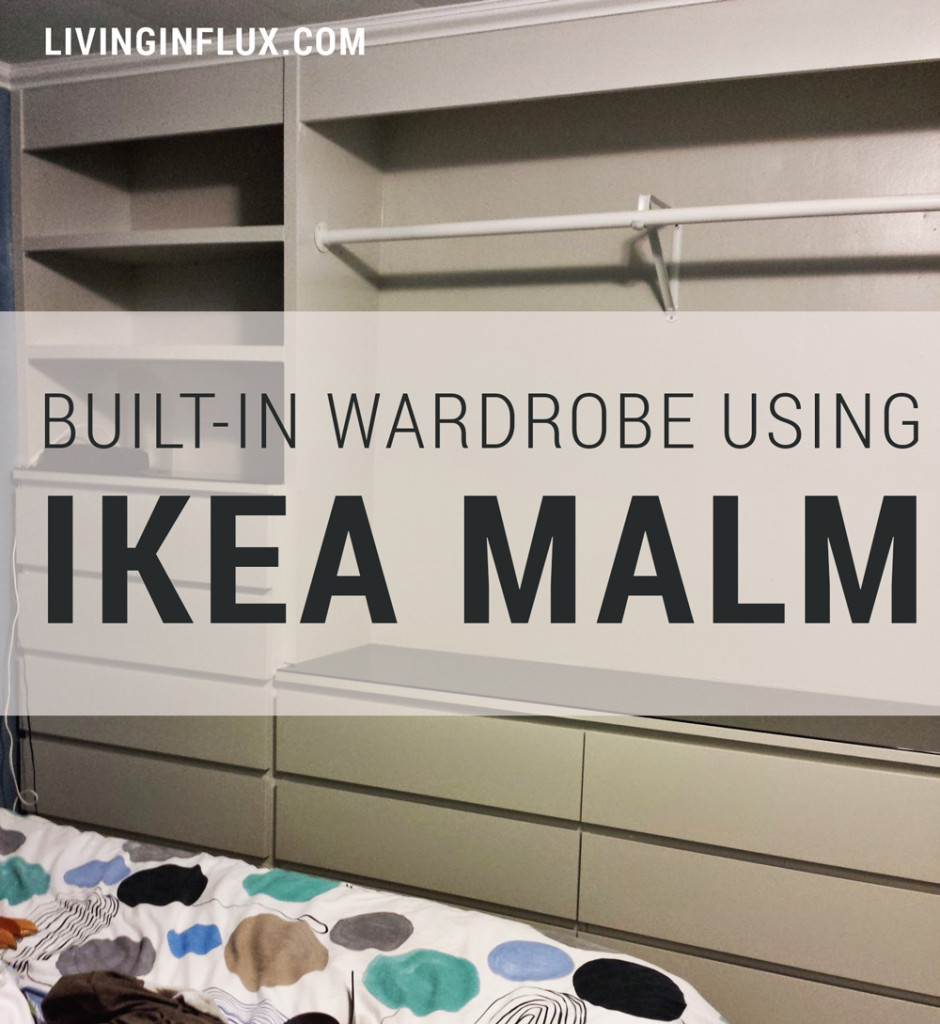 Ikea Hack Built In Wardrobe Using Malm Dressers Living