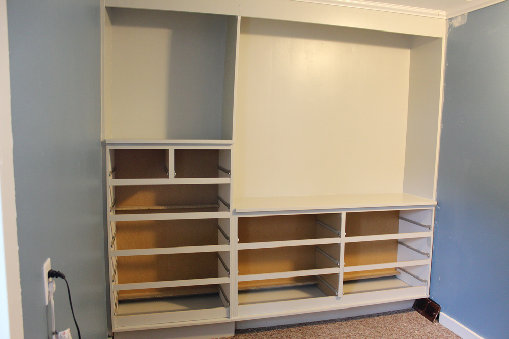 ikea hack built in wardrobe using malm dressers living in flux. Black Bedroom Furniture Sets. Home Design Ideas