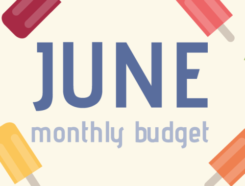 June monthly budget