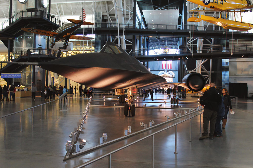 Blackbird at Udvar Hazy NASM