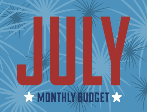 July Monthly Budget