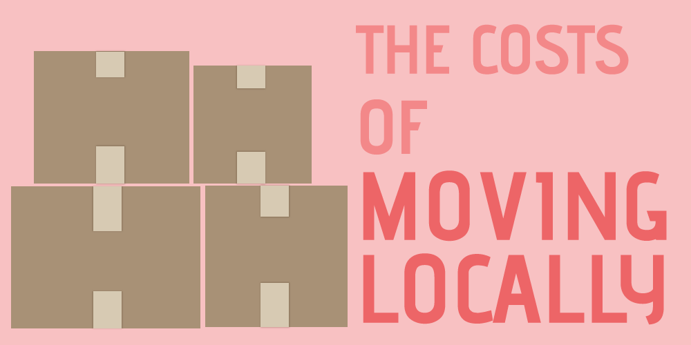 Costs of Moving Locally