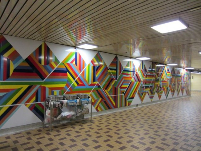 Art created by Canadians is showcased in the Toronto Subway