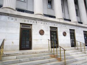 U.S. Treasury Building Side