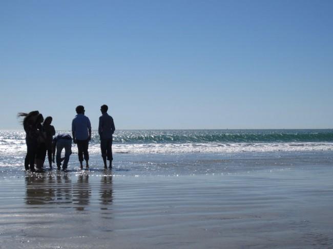 Beach People on Coronado Island