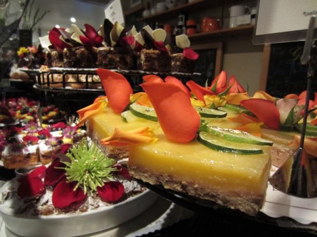 Dessert Case at Extraordinary Dessers in San Diego