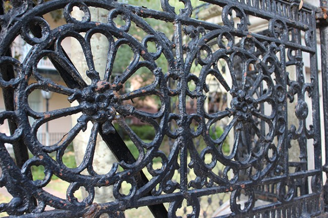Iron Gates on College of Charleston Campus