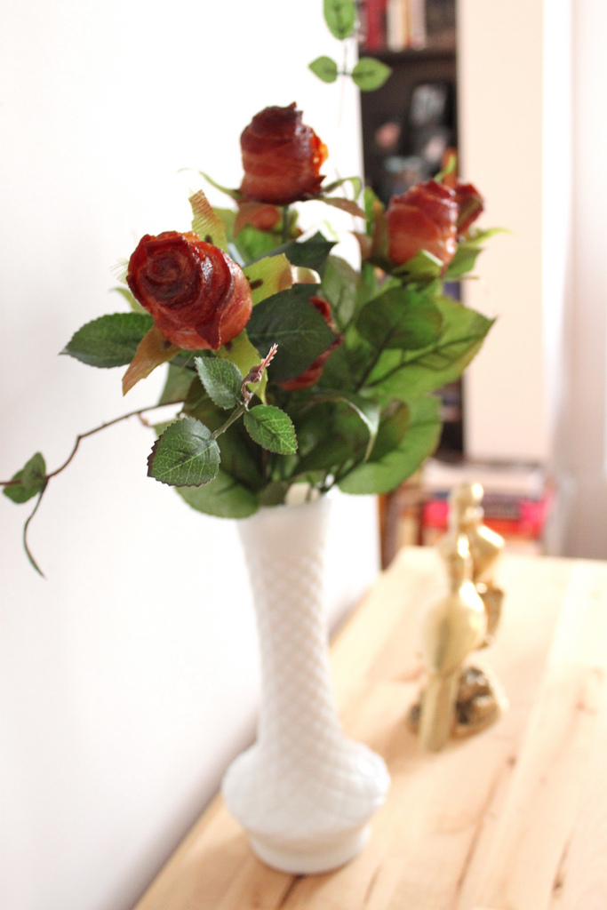 Bacon Rose Bouquet. Source: http://www.flickr.com/photos/kitchenculinaria/6878767345/sizes/l/