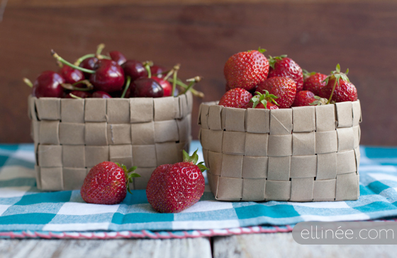 Creative Ways to Reuse Things: Brown Paper Bags to Woven Basket