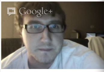 Richard in a Google Hangout