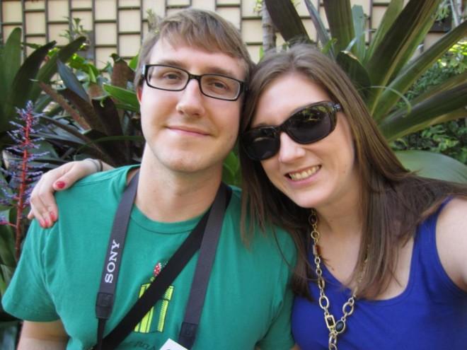 Richard and Nicole in San Diego