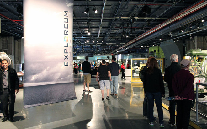 The Exploreum at the Intrepid Museum Lets You Get Up Close & Personal