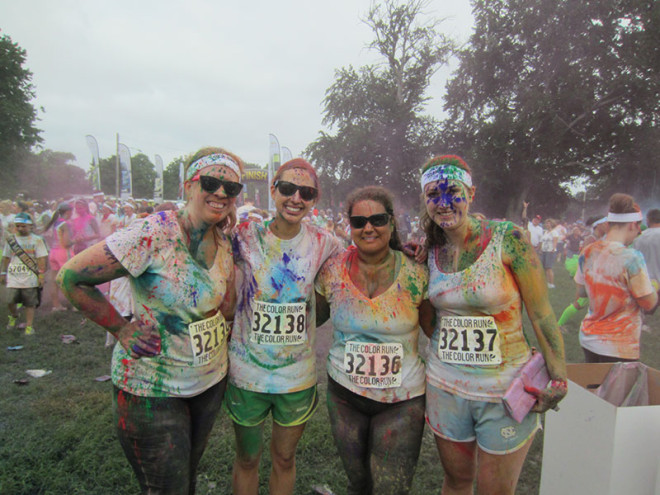 Our Color Run Team
