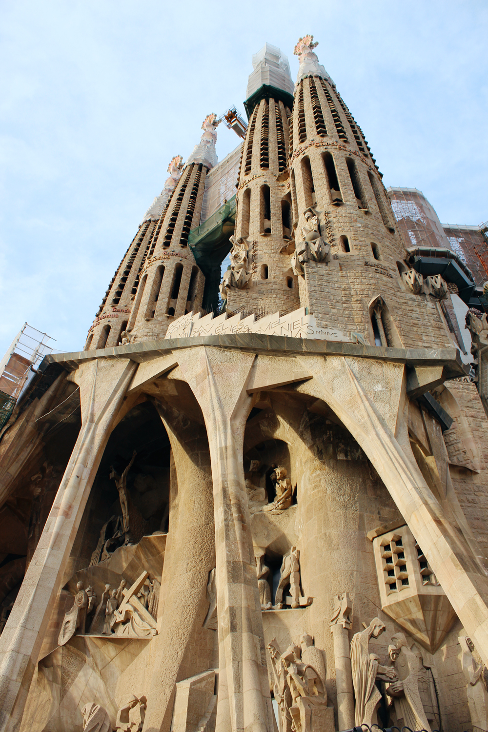 Front of Sagrada Familia