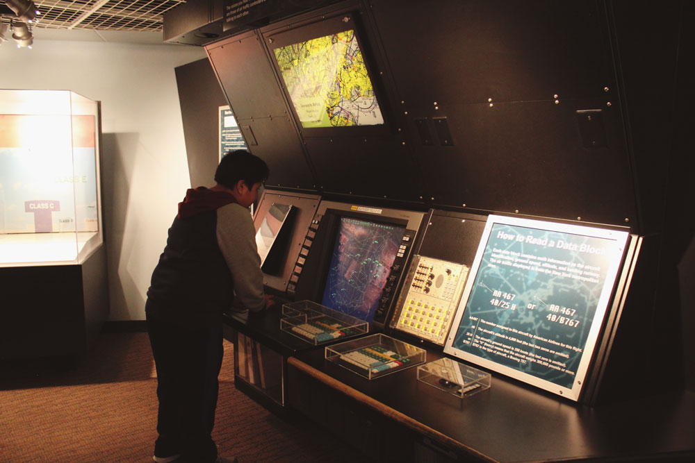 Air Traffic Control Station