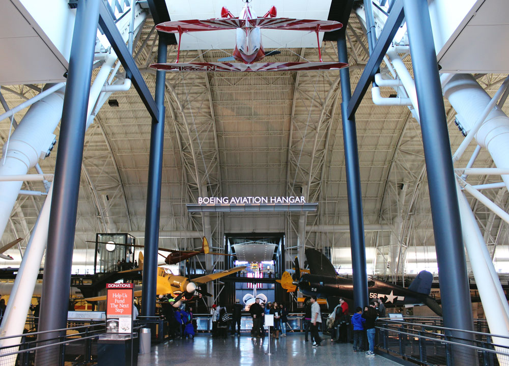 Udvar Hazy National Air & Space Museum Hangar