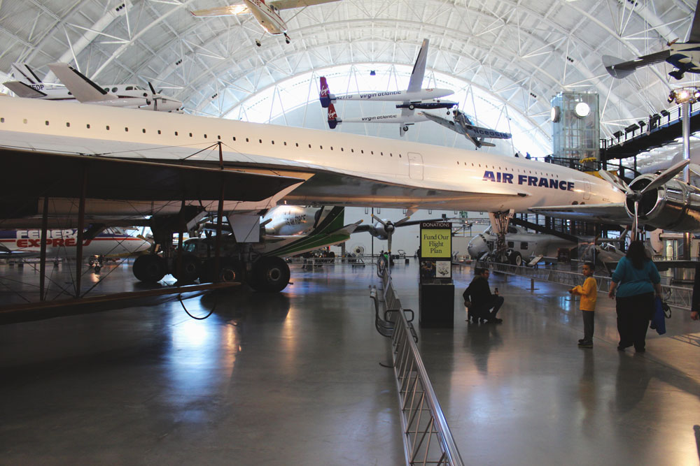 Air France Concorde at Udvar Hazy