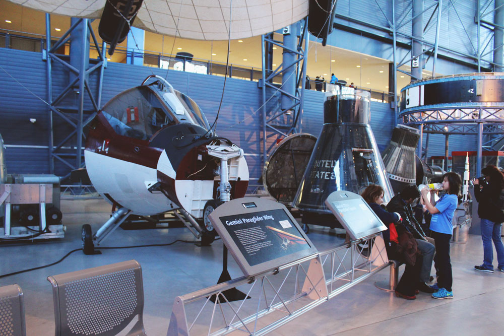 Spaces Capsules at Udvar Hazy